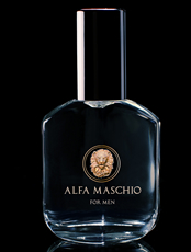 Alfa Maschio cologne for alpha males, men bottle by alpha dream